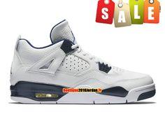 Nouveau Air Jordan 11 Retro Homme Blanc/Bleu pas cher boutique