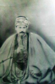 A Kurdish Darwesh yazidi man from Urfa (Urava), 1900