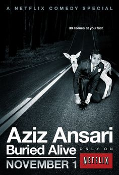 Aziz Ansari buried alive. CHECK OUT THE FULL SHOW IN THE WHOLE ARTICLE.