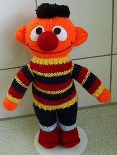 gratis breipatroon (NL)- Ernie