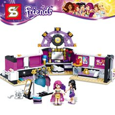 Girl Friends DIY Building Blocks Toys FOR Kids Music Car No. 379 FREE Shipping Stars Toys