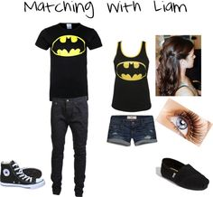 """Matching with Liam"" by myirishmanniall ❤ liked on Polyvore"