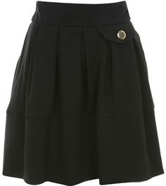 #us.missselfridge.com     #Skirt                    #Black #Skater #Skirt #Skirts #Apparel #Miss #Selfridge                       Black Skater Skirt - Skirts - Apparel - Miss Selfridge US                                               http://www.seapai.com/product.aspx?PID=1001979
