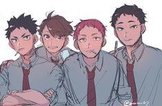 Haikyuu Tumblr, Haikyuu Manga, Haikyuu Fanart, Haikyuu Ships, Oikawa Tooru, Iwaoi, Kenma, Haikyuu Volleyball, Anime Demon