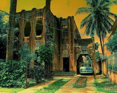 Art Deco Paintings, Cuban Art, Art Deco Buildings, Cuba Travel, Havana Cuba, Cubism, Faded Glory, Key West, Past
