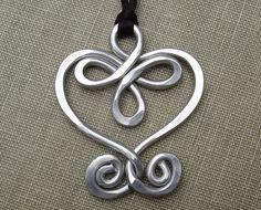 Big+Celtic+Heart+Aluminum+Pendant++Celtic+by+nicholasandfelice,+$12.50