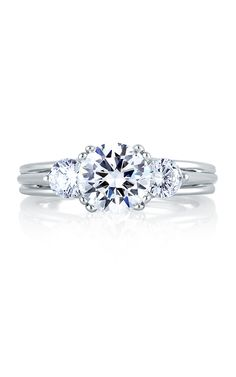Shop A. Jaffe MES225-135 Engagement rings | Bailey Banks & Biddle