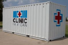 20ft Clinic In A Can Exterior