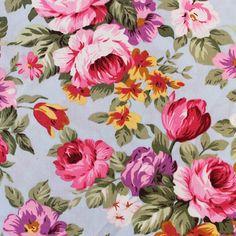 Slate Vintage Floral