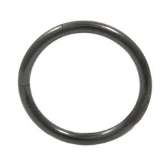 Black Steel Segment Ring Seamless Hoop (Available in 16G & 14G- 4 Sizes), (http://www.bodydazz.com/black-steel-segment-ring-seamless-hoop-14g-4-sizes/)