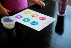 better than i could have imagined: Fruit Loop Sort {printable}: Toddler Learning Activity