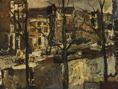 George Hendrik Breitner (Dutch, 1857-1923), The Singel, Amsterdam, 1912. Oil on canvas, 76.2 x 101cm.
