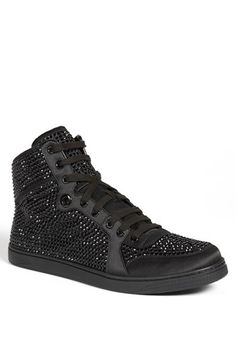 Gucci 'Coda' Crystal High Top Sneaker