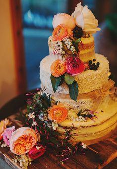 ALYCE + ALEX // #wedding #reception #cake #flowers #floral #tier #bright #fun #colourful #adelaide #photographer #dessert