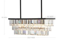 Clear faceted crystals in our Gemma Collection give a contemporary look to a classic design. They hang from smooth bronze-finished bands in our Gemma Rectangle Chandelier. Place it over a dining table, in an entryway or bedroom for lighting that s… Shell Chandelier, Rectangular Chandelier, Dining Chandelier, Dining Room Lighting, Crystal Drop, Faceted Crystal, Rectangle Table, Vintage Candles, Candelabra Bulbs