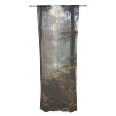 East Urban Home Forest Mystics by Iris Lehnhardt Sheer Curtain Panels