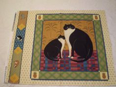 Fabric V.I.P. CAT GALLERY Collection Pattern by Wearehomecrafting, $20.00