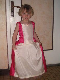 tuto robe de princesse 4/5 ans
