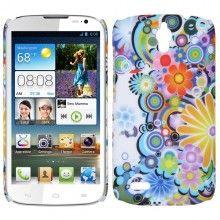 Carcasa Huawei Ascend G610 Hard Case Flores Circulos  € 5,99