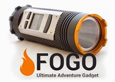 Fogo Combines LED Flashlight, Walkie Talkie, Charger And GPS In One