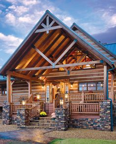 Our Favorite Exteriors | News | Log Cabin Homes