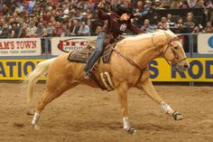 Brittany Pozzi at the 2011 NFR...looks so much like my Eddie man!