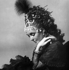 Elizabeth Taylor, by Cecil Beaton