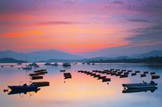 Peaceful Evening at Tai Mei Tuk, New Territories, Hong Kong. It is a popular place for barbecues and cycling. There are villages and a harbour nearby where many restaurants can be found. Bicycles are also available fore hire in the villages. by John Chan Man Kit on 500px
