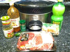 Crock pot slow cooker carnitas absolutely delicious! Perfect Cinco de Mayo food, summer dinner!