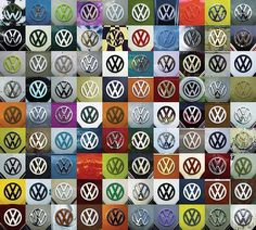 Type II VW Bus Logos