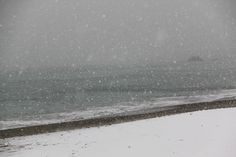 Il mare e la neve