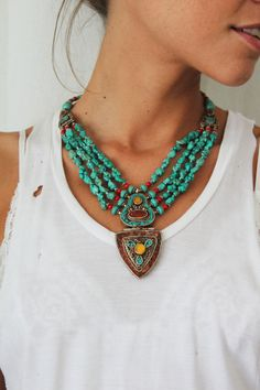Maasai Tribal Necklace---- LAUR THIS IS MY FAVORITE!!! OMG!!