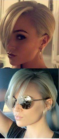 Latest Short Hairstyles for a Great Look - New Hair Styles 2018 Latest Short Hairstyles, Hairstyles Haircuts, Pixie Haircuts, Amazing Hairstyles, Butch Haircuts, Stylish Hairstyles, Fade Haircut, Longer Pixie Haircut, Hair Colors