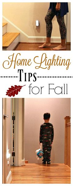 With shorter days and darker nights coming this Fall, be sure to check out these easy @jascoproducts solutions and how they are helping make my home secure! #LightUpFall #ad