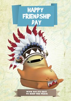 Keep The Peace, Happy Friendship Day, Frosted Flakes, Cards, Friendship Cards, 3d Cards, Hilarious, Amigos, Happy Friends Day