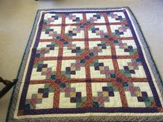 Bits and Pieces with lattice made by Sharon Theriault