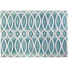 Mosaic Swirls Wall Panel Blue Pier 1 Imports