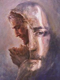 Catholic Art, Religious Art, Jesus Christ Painting, Pictures Of Jesus Christ, Images Of Christ, Jesus Wallpaper, Prophetic Art, Biblical Art, God Jesus