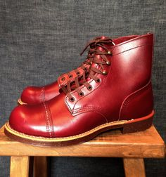 Red Wing 8012 Burgudy