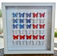 American Flag Patriotic 3D butterfly by KristynsKreations517, $40.00
