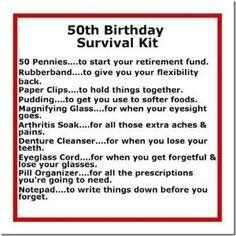 50th Birthday Gift Ideas - DIY Crafty Projects by Mz. Brown