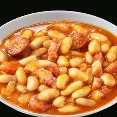 Fabada asturiana (Formato familiar): Unos de los considerados 10 platos típicos españoles hecho por tapper´s con todo su sabor tradicional. #fabada #asturiana #legumbres #saludable
