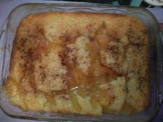 Peach Cobbler was a hit for the 4th.  This is Paula Deen's recipe