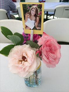 Centerpiece for a graduation party