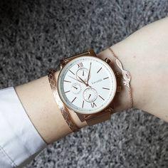 """Rose gold watch """"NEWLuna Pyxis now offers watches! New designs coming soon! Nouveauté Retrouvez désormais des montres sur Luna Pyxis! De nouveaux modèles seront…"""""""