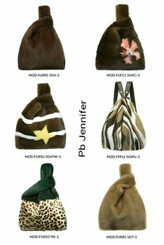 Fab 1960s Fur Effect Purse Choice of 4 Colours
