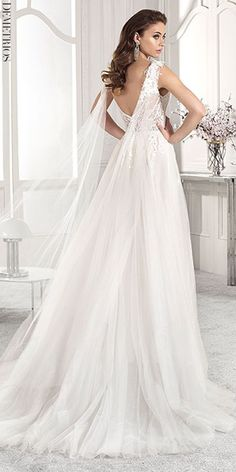 Demetrios Wedding Dress Collection 2019 is a bridal collection filled with a magical blend of classic, sophisticated and romantic pieces. Gorgeous Wedding Dress, Sexy Wedding Dresses, Bridal Dresses, Wedding Gowns, Couture Dresses, Wedding Bells, Dream Wedding, Dresses Elegant, Wedding Dress Gallery