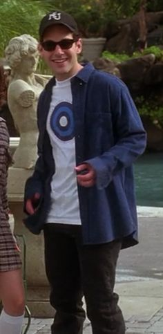"""Josh looks pretty normal here. Way to go, buddy.   116 """"Clueless"""" Outfits Ranked From Worst To Best"""