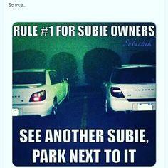 The main rule isn't it @subie_dan @subie_pona  Well hmm seems like a reasonable rule. Better than having Hondas Revving at chu   #subieflow #subiegang #subienation #subielicious #subieworld #worldrally #subie #subaruimpreza #impreza #subiechick #sti #wrx #subaru #rally #stars #white #subiestance #dropped #jdm #usdm by xravinx_ej1