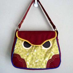 ON SALE  Handbag  Hoot The Owl Shoulder Bag by littleoddforest